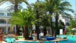 Mallorca 2012 Hotel Club Cala d'Or Gardens.mp4