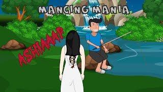 Gemobbt Sundel Bolong Beim Angeln - Lustige Animierte Cartoon-Eule | BX Animiert