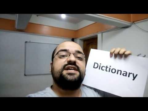 How to pronounce Dictionary - ازاي ننطق قاموس باللغة الانجليزية
