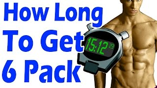 How Long Does it Take to Get a SIX PACK ➨*NO BS* | See your 6 Pack abs