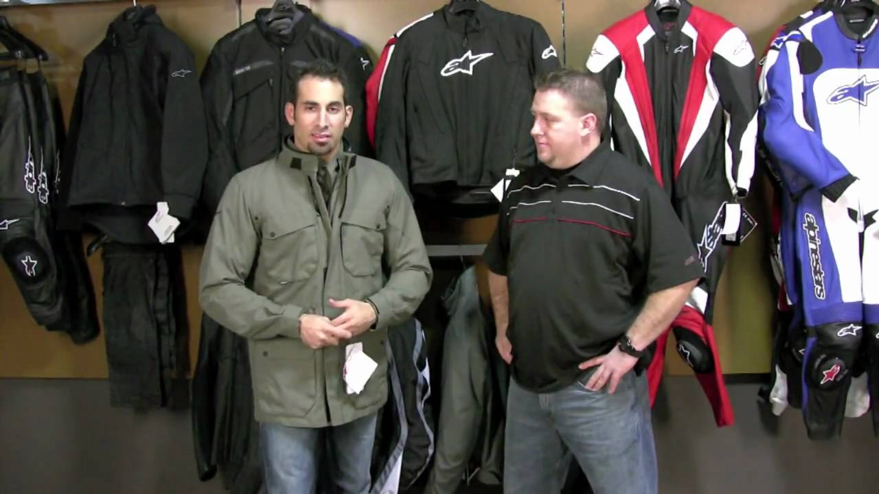 Alpinestars Leather Jacket >> Alpinestars Messenger Jacket Review at RevZilla.com - YouTube