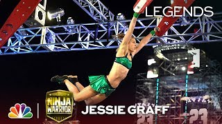 Jessie Graff: First Woman to Finish Stage 1 - American Ninja Warrior