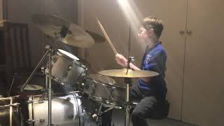 Runaway Baby Bruno Mars Drum Cover - 9 year old drummer - #CharlieDrums