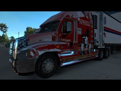 American Truck Simulator Freightliner Cascadia