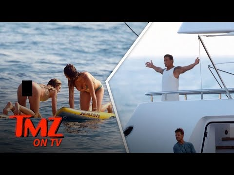 Sylvester Stallone And His Super Hot Family On A Yacht!  TMZ TV