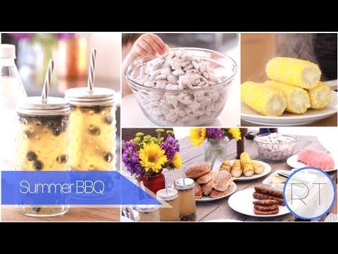 Summer BBQ Recipes + Ideas