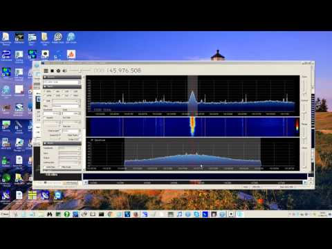 Amateur Radio Satellite AO-85 rx with RTL-SDR