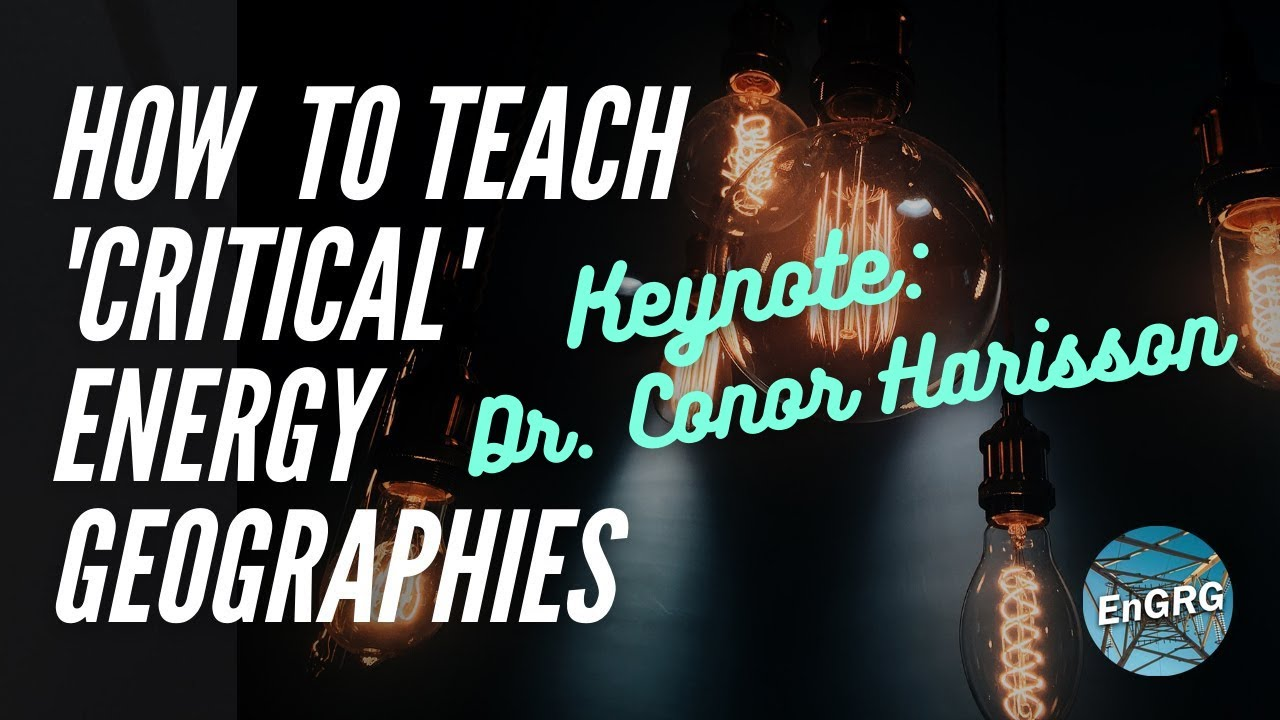 How to Teach 'Critical' Energy Geographies