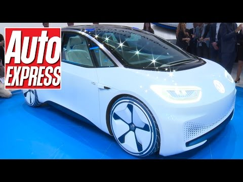 Volkswagen's all-electric future previewed with new ID concept at Paris 2016