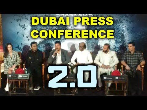 Robot 2.0 Dubai Press Conference | Rajnikanth, Akshay Kumar, A R Rahman, Amy Jackson, Shankar
