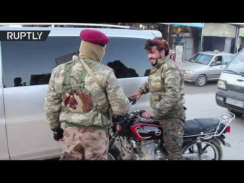 RAW: YPG forces remain in Manbij ahead of Syrian army arrival