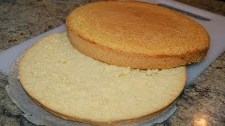 Bizcocho genovés base para tartas thumbnail