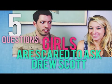 5 Questions Girls Are Too Afraid To Ask Guys || DREW SCOTT of THE SCOTT BROTHERS | Lauren Francesca