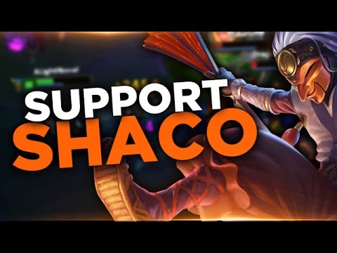 Shaco - Support/AP Carry - Preseason 6 - Full Gameplay Commentary