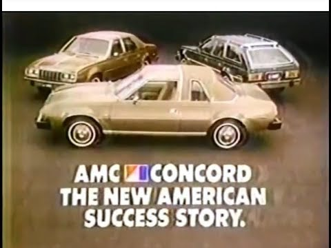 79 AMC Concord Commercial 1978
