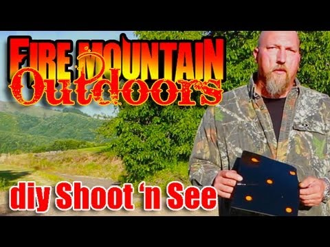 Do it yourself Shoot and See Targets