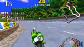 Manx TT Super Bike Game Sample - Sega Saturn