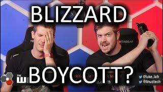 Blizzard Boycott? (PT 1) - WAN Show Oct 11, 2019