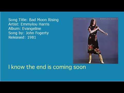 Emmylou Harris - Bad Moon Rising