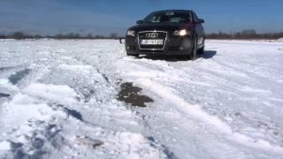 Audi A3 snow fun