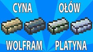 Poradnik Terraria 1.2 - Tin, Lead, Tungsten, Platinum (Cyna, Ołów, Wolfram, Platyna)