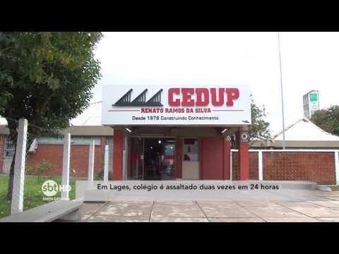 Em Lages, colégio é assaltado duas vezes em 24 horas