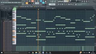 Alan Walker - Alone / Fl Studio Piano Tutorial #2
