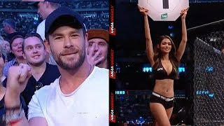 UFC 243 Highlights: Thor Crashes the Party and Mayor Bashes UFC Ring Girls
