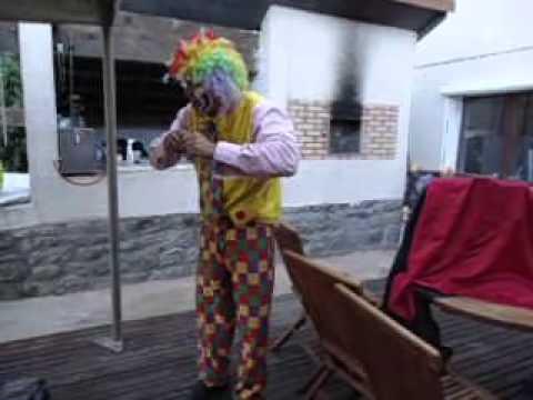 Clown geneve lausanne clown freddo 0033 661 34 56 82 youtube - Jeux de clown tueur gratuit ...