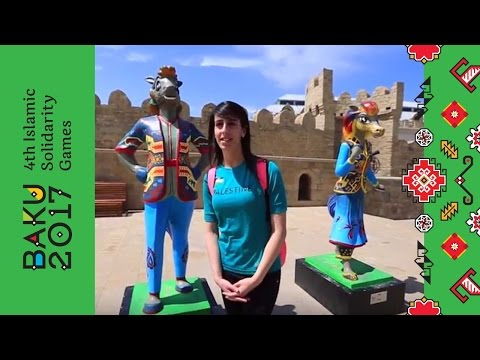 Mary Al Atrash explores the Old City | Baku 2017