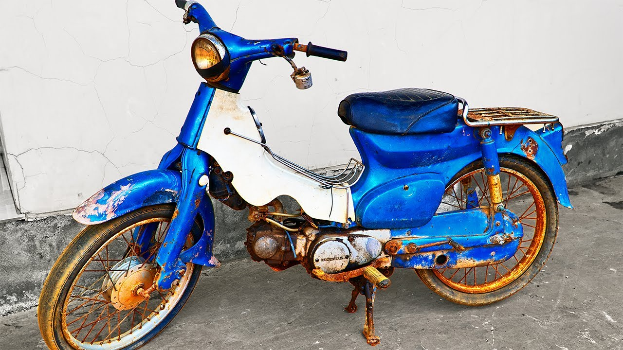 1978 Honda Super Cub C50 Restoration   Tear Down