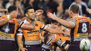 NRL Highlights: Brisbane Broncos v Cronulla Sharks - Round 20
