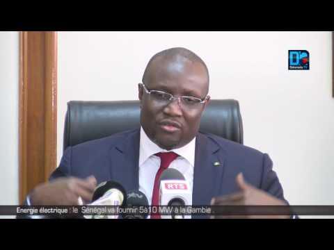 Energie électrique : le Sénégal va fournir 5à10MW à la gambie