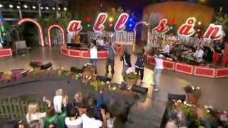 Panetoz med Dansa Pausa - Allsång på Skansen Aug 2012