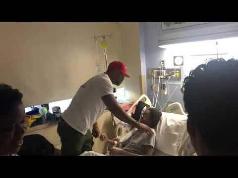 Method Man surprises patient at Staten Island University Hospital