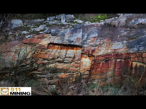 Heavily Mineralized Outcrops Carrying Rich Au & Ag Sulphides