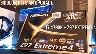 asrock z97 extreme 4 atx motherboard lga 1150 unboxing and review
