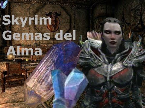 Skyrim-Tutorial Gemas del Alma-