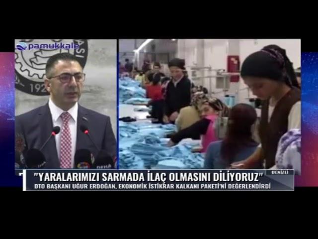 Pamukkale TV-Yaralarımızı sarmada ilaç olmasını diliyoruz 20.03.2020
