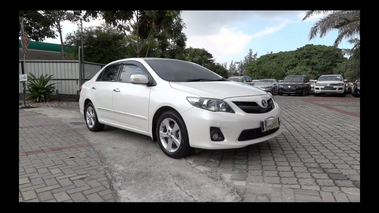 2012 Toyota Corolla Altis 2 0 V Start Up And Full Vehicle