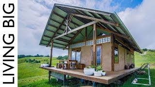 A Stunning Small Home Made From Hemp