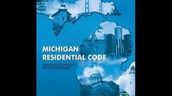 Understanding the Michigan Residential 2015 Energy Code pt 1 of 3 Thermal Envelope