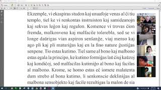 16 | La Sotesana Instruo de Ŭonbulismo | 에스페란토 원불교 대종경 공부 (zoom)