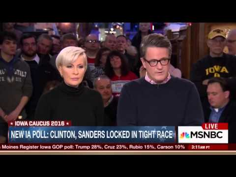 Mike Barnicle on Bernie Sanders' campaign fundraising momentum in January alone (1 February 2016)
