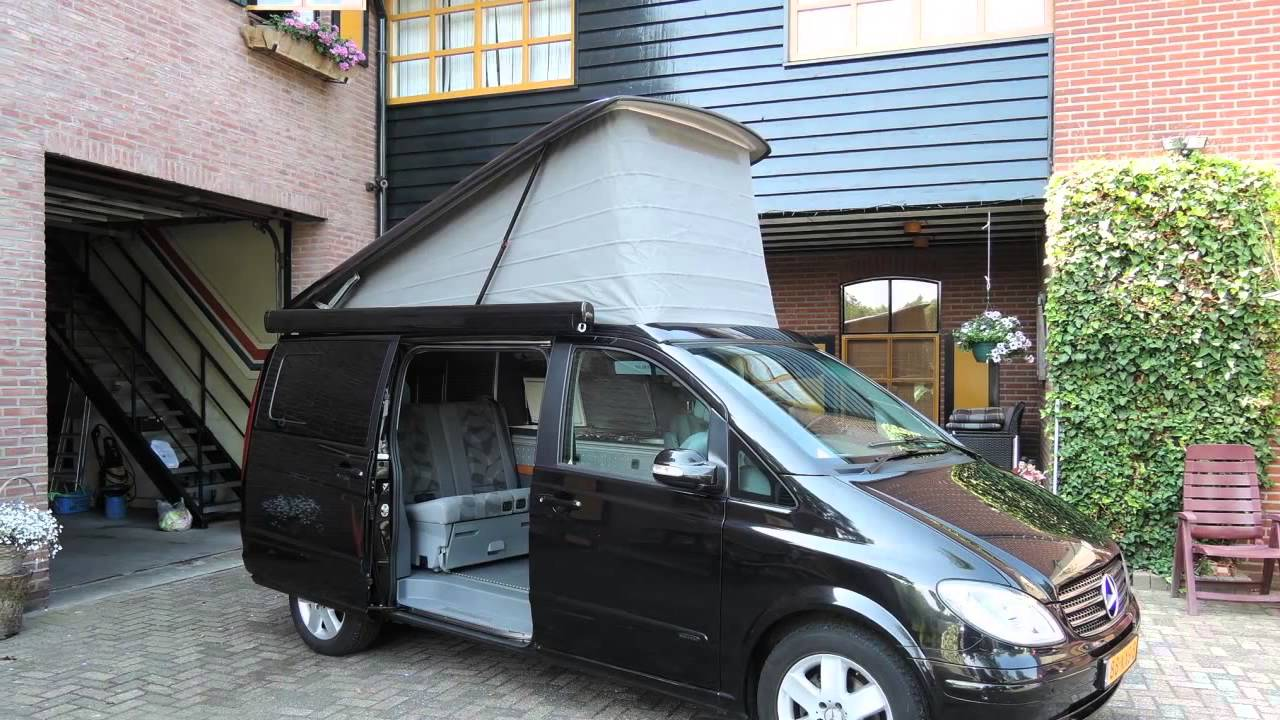 kampeerauto te koop westfalia viano marco polo 3 0 cdi v6 youtube. Black Bedroom Furniture Sets. Home Design Ideas