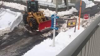 Snow in Nagano−Japan. [雪で長野県の日本]