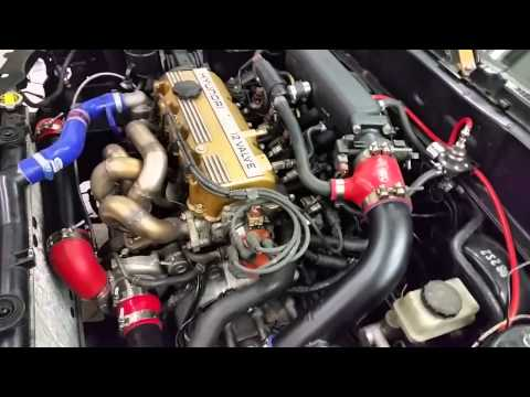 Hyundai Scoupe gt2871r test revving
