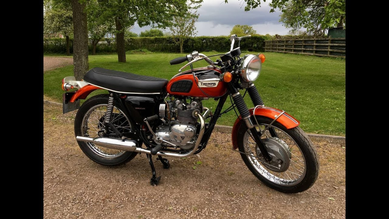 Triumph Daytona 1971 500cc Forsale Youtube