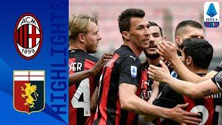 Milan 2-1 Genoa | Il Milan vince a San Siro! | Serie A TIM