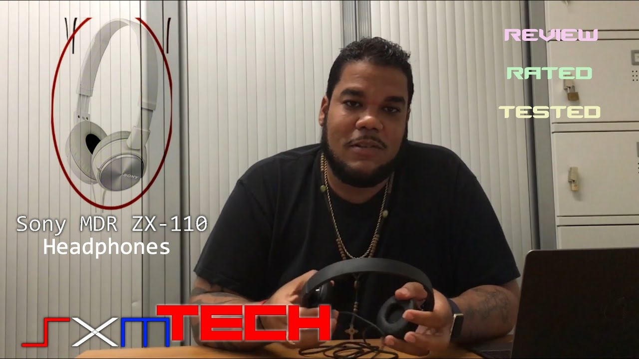 Sony Mdr Zx110 Headphones Youtube Jgos17 Ap Black